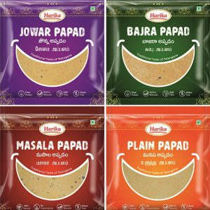 Papad combo – Millets (Pack of 4)